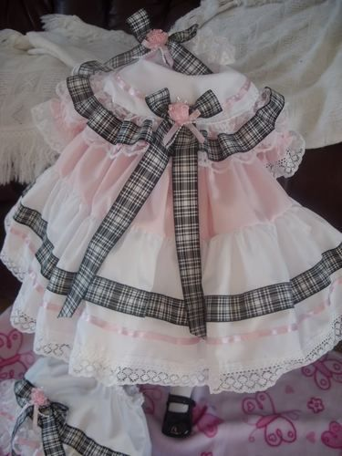 """DREAM 6-12 MONTHS  BABY WHITE LACE RIBBON FRILLY KNICKERS OR 30/"""" REBORN DOLL"""