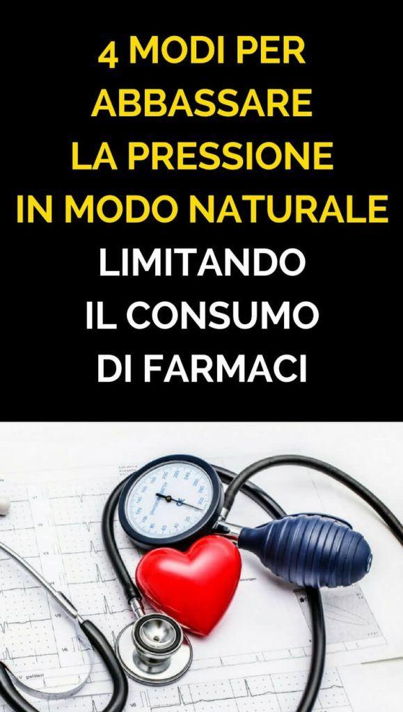 4 Modi Per Abbassare La Pressione In Modo Naturale..