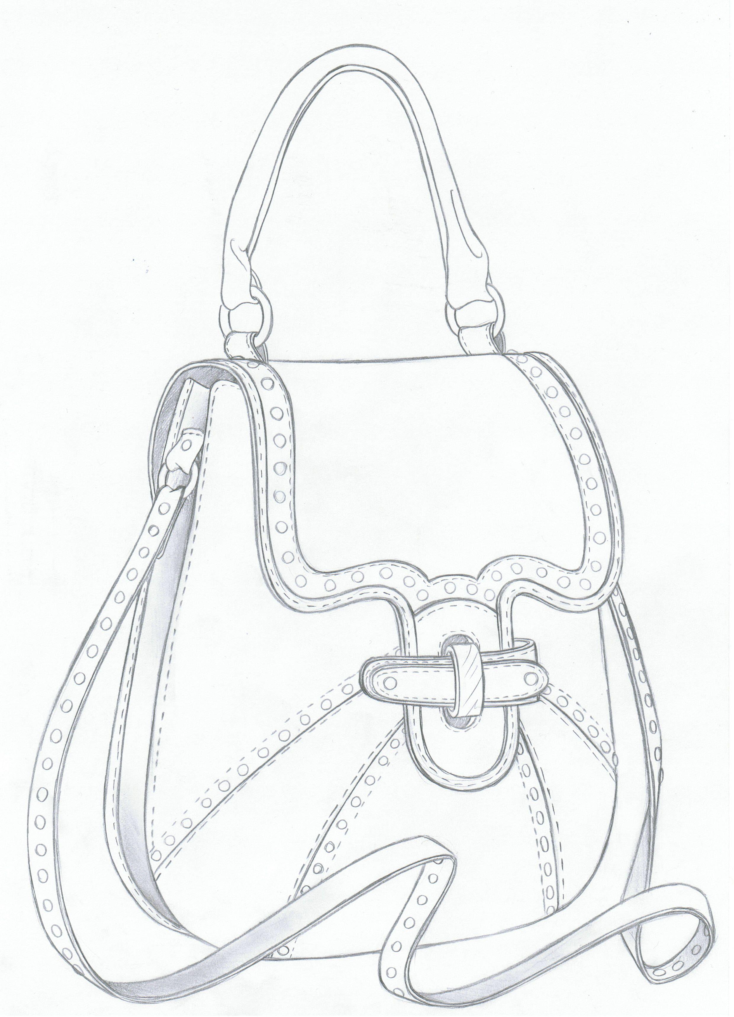 Pin von Nesreen El-Nakib fashion auf bags | Pinterest | Schablone ...