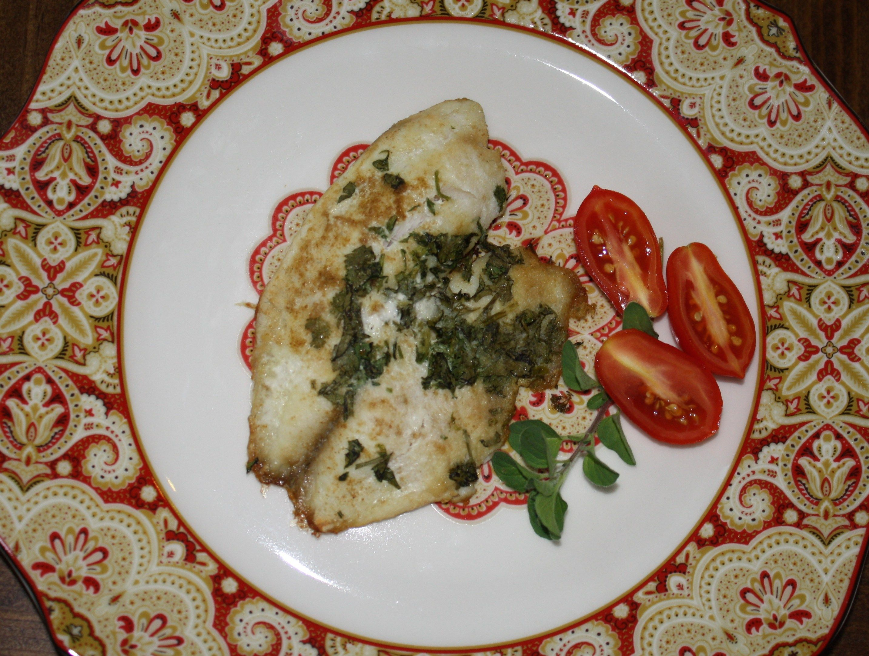 Lime Cilantro Baked Fish
