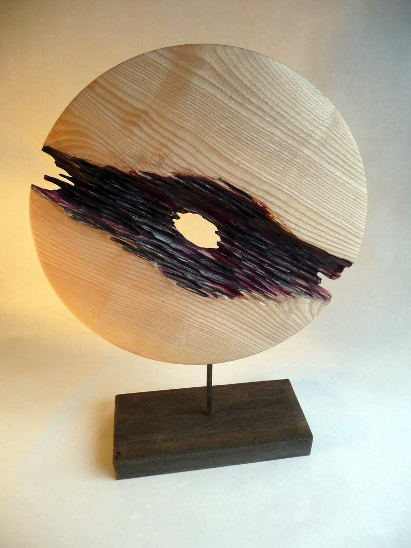 sculpture bois tourne