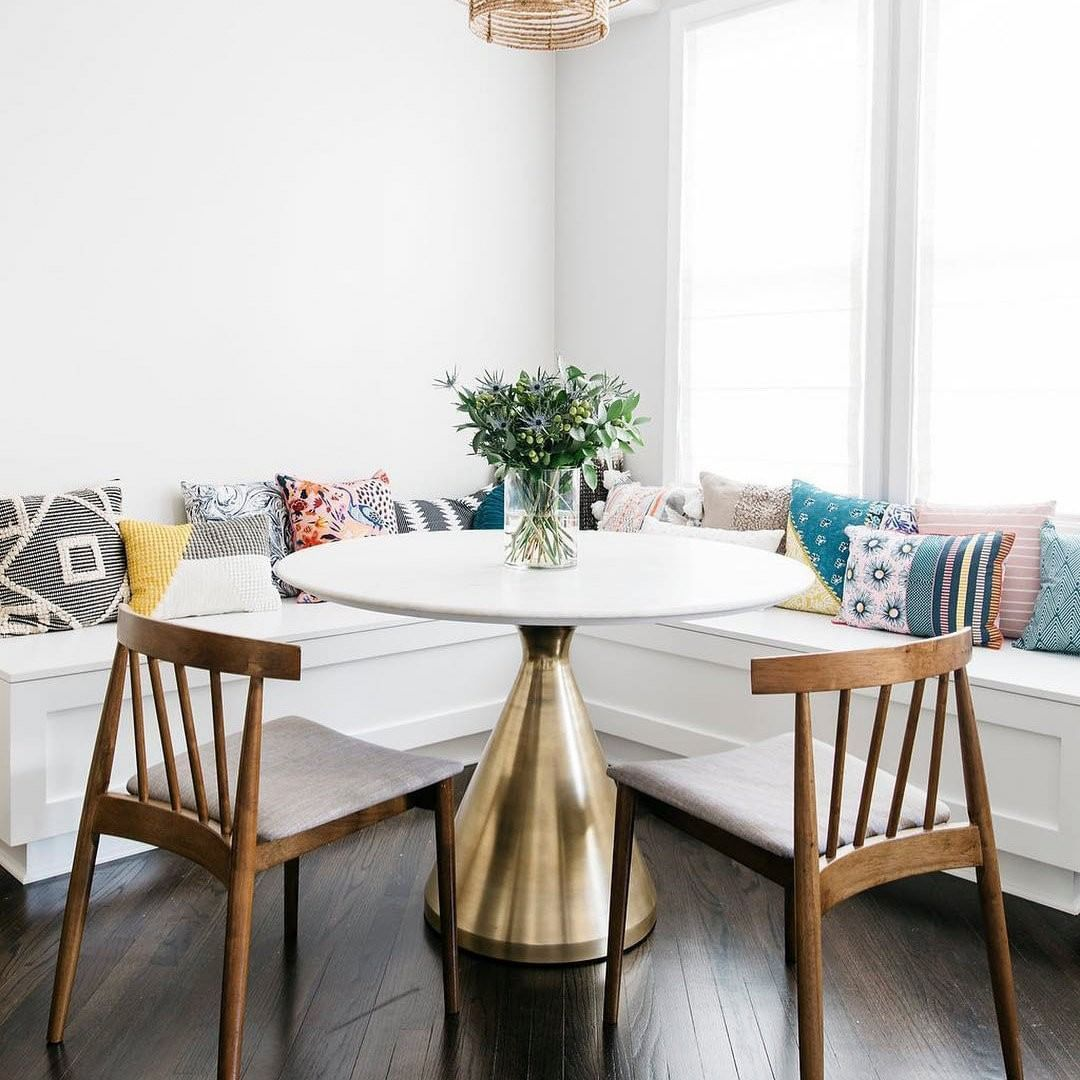 West Elm On Instagram Put Your Dining Nook On A Pedestal The