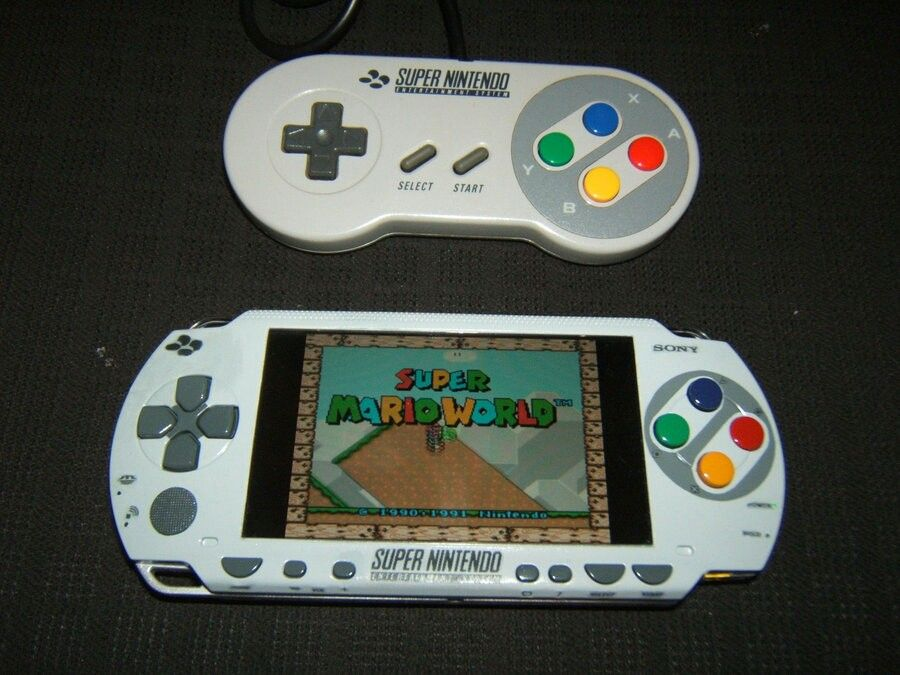 SNES PSP MOD | Retro Gaming | Mini arcade, Playstation games