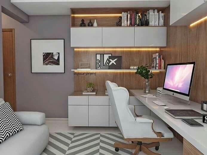 Home office CASA Pinterest Consultorio, Escritorios y Oficinas - bibliotecas modernas en casa
