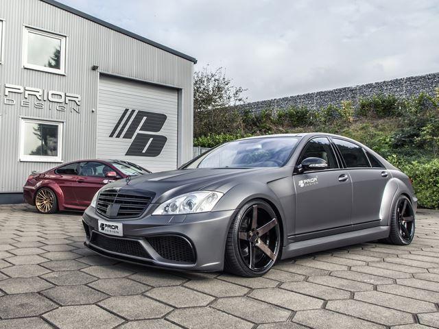 Prior Design Updates Mercedes S Class Widebody Kit Benz S Class