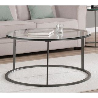 Glass And Metal Coffee Tables