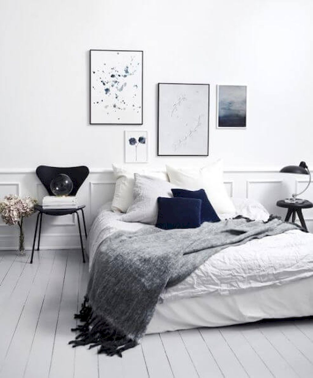 Adorable 60 Scandinavian Bedroom Decorating Ideas