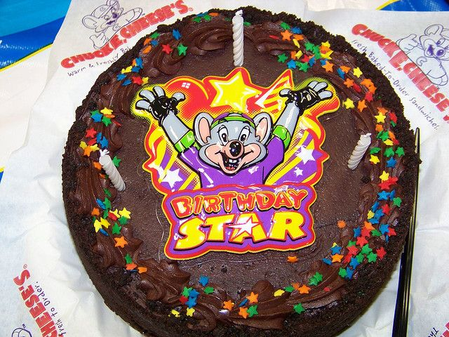 Chuck E Cheese Birthday Cake Cheese