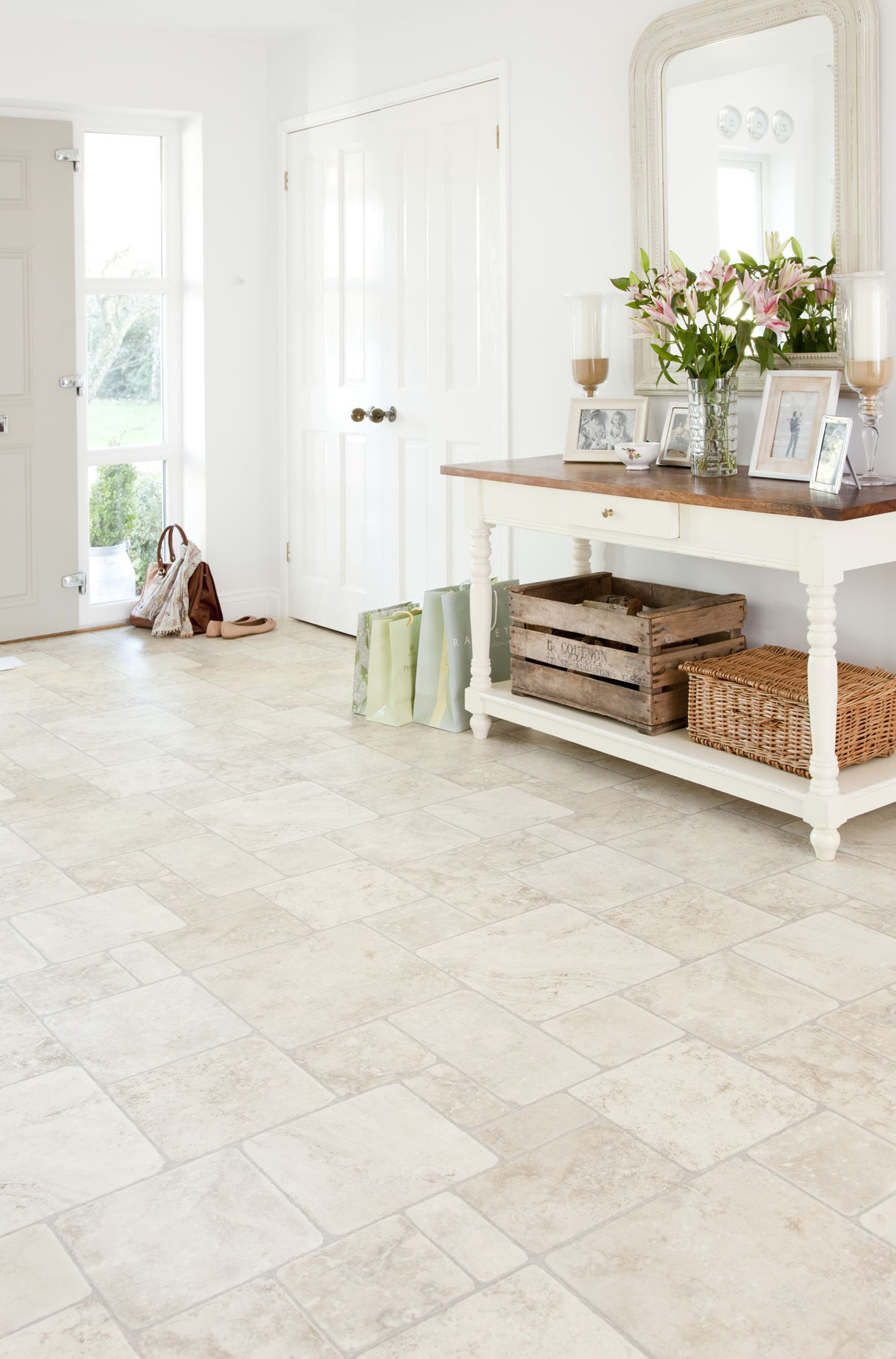 The Perfect Floor For A Bright Airy Hallway This Is Babylon From Our Comfortz Xl Collection Www Leoline Vinyl Flooring Flooring Vinyl Flooring Uk