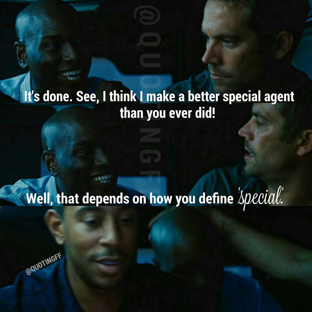 favorite quote from fast five 2011 fast and the furious