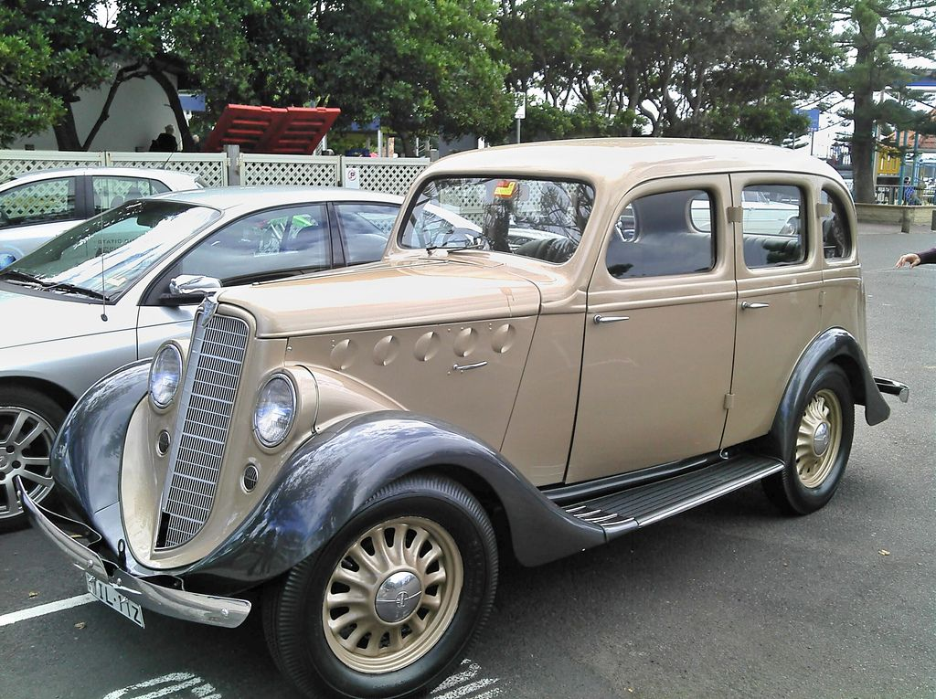 1936 Willys 77 Sedan This Car Replaced The Willys Whippet With