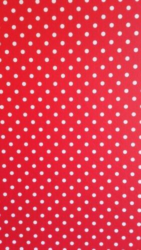 Rood Met Witte Stippen Behang Van Bella Rosa Vrolijk Voor De Kinderkamer Abstract Artwork Kidsroom Dog Accessories