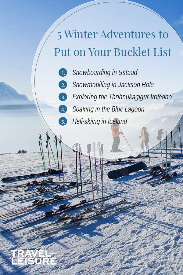 Photo of 10 Winter Adventures to Put on Your Bucket List