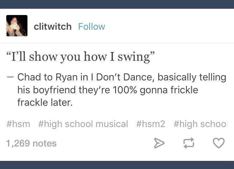 Chad; Ryan; HSM; High School Musical