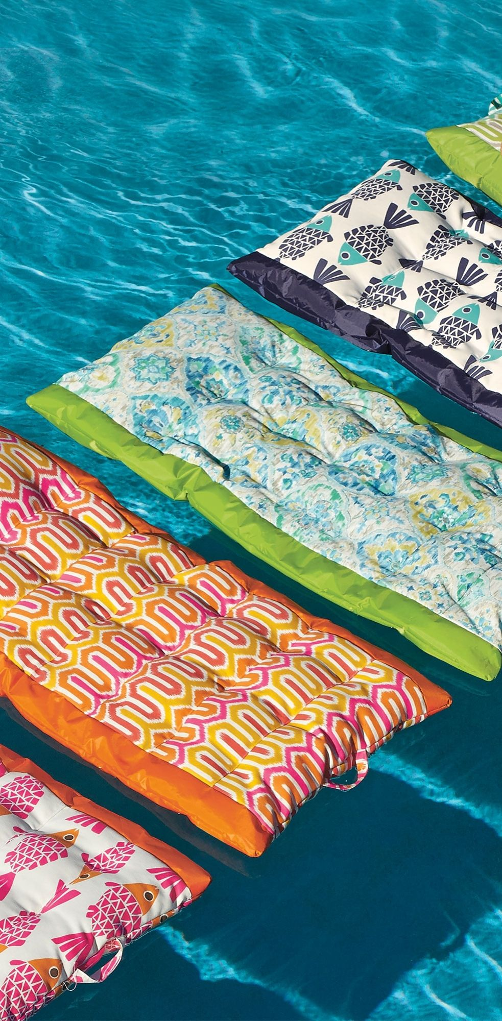 Consider Our Fabric Covered Suzanne Pool Float Your