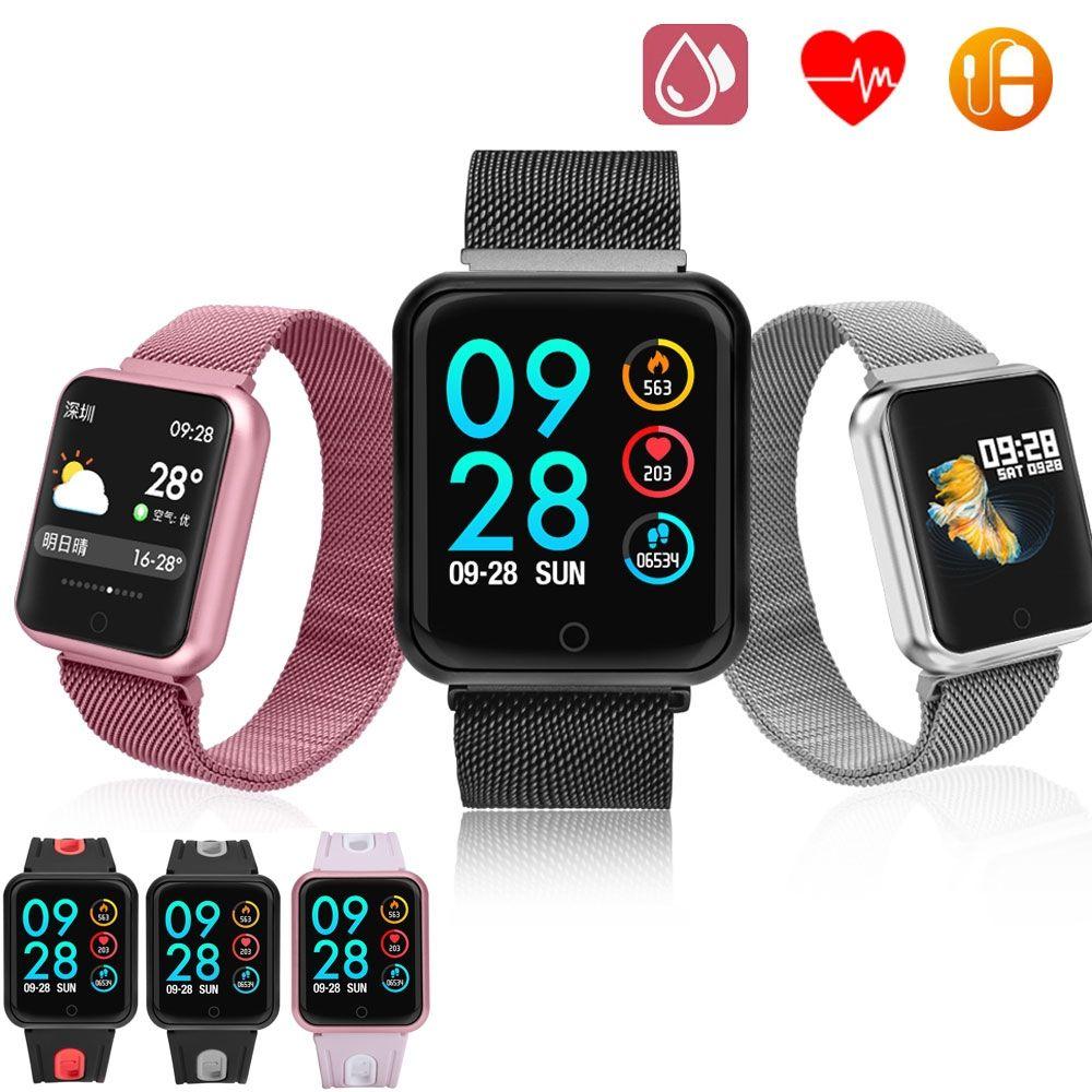 Smartwatch Reloj Inteligente Impermeable Con Multiples Funciones