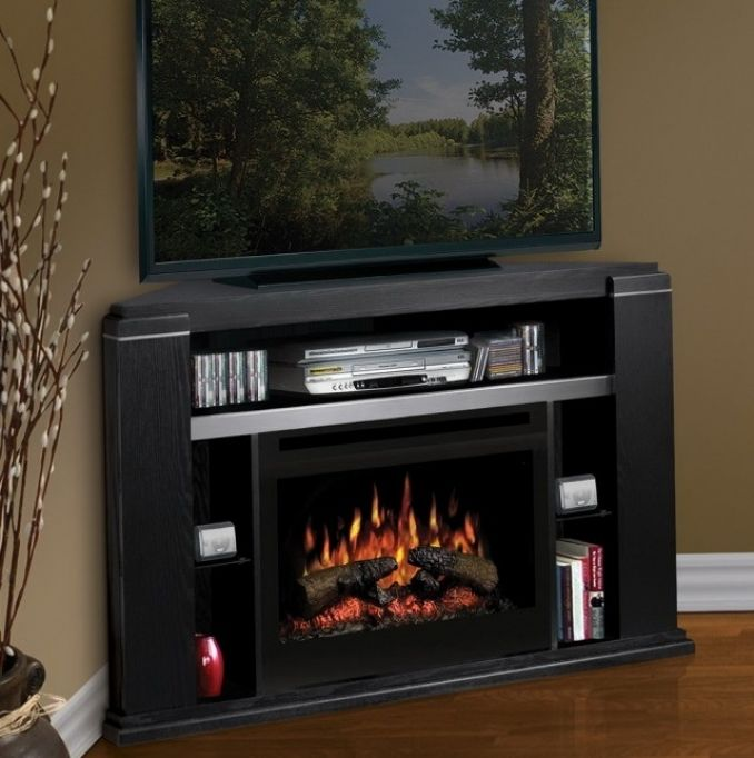 small corner electric fireplace tv stand home design furniture ideas rh pinterest com