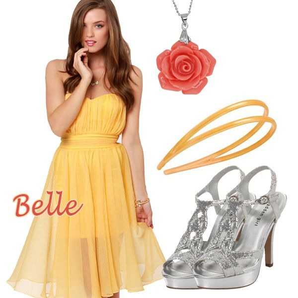 Disney Princess Belle Halloween Costume