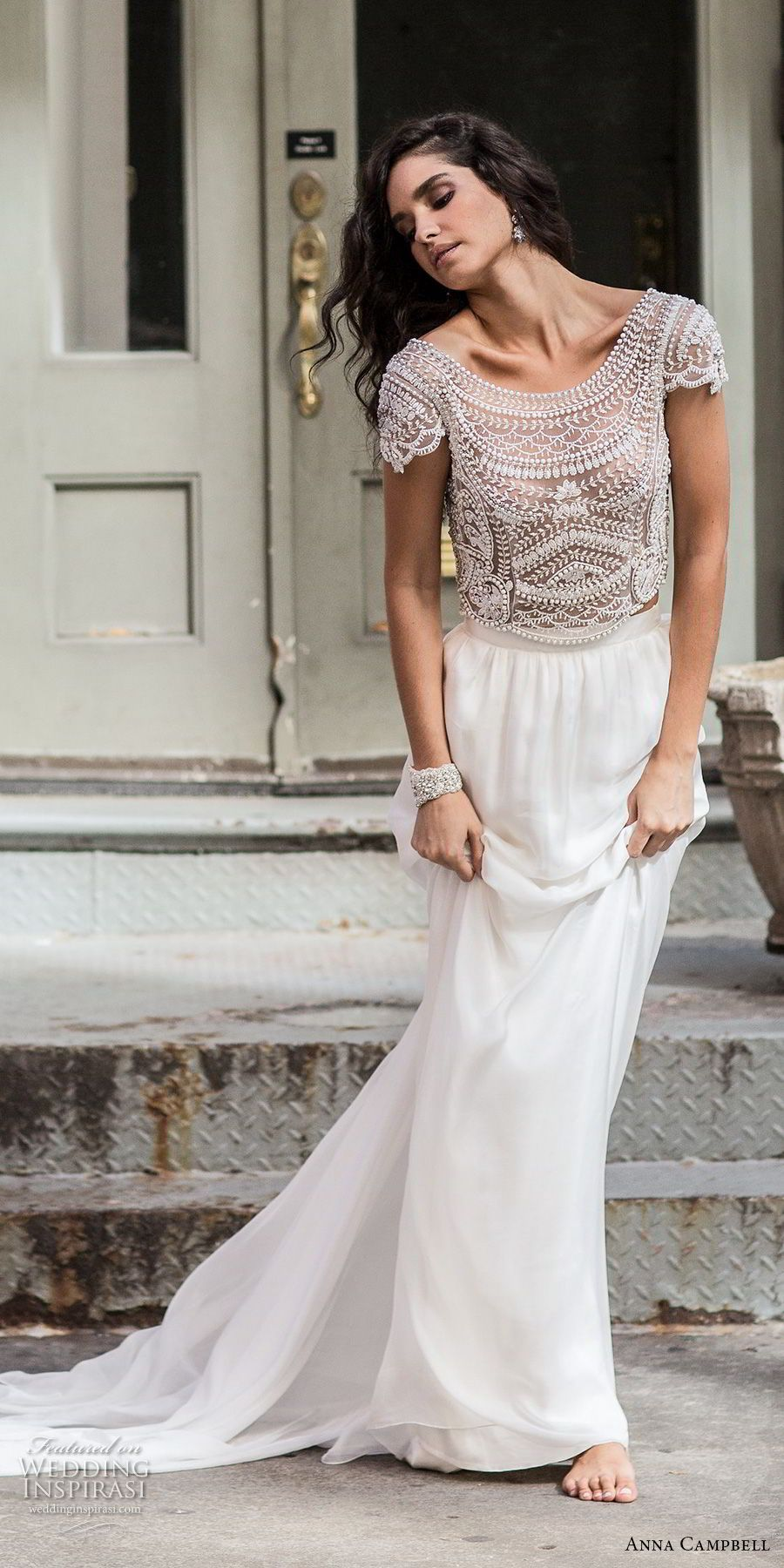 Anna Campbell Fall 2018 Wedding Dresses in 2020 Wedding