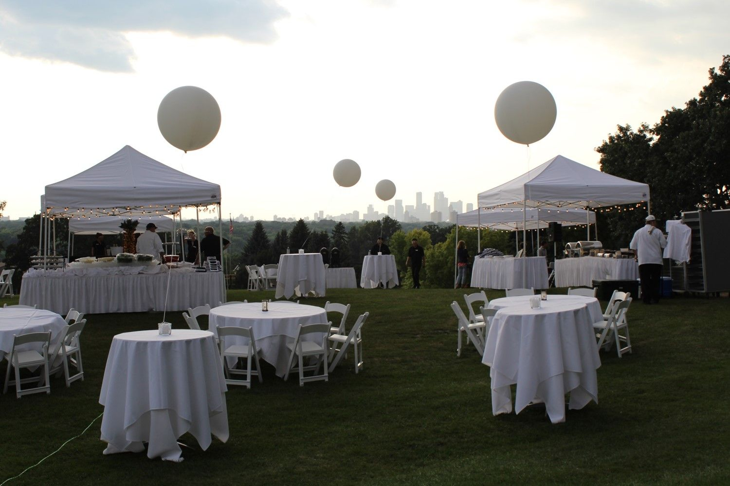 wedding halls st paul mn%0A Outdoor wedding ceremony set up at Town  u     Country Club in St  Paul  MN   Overlooking the Minneapolis skyline and the Mississippi River    Pinterest
