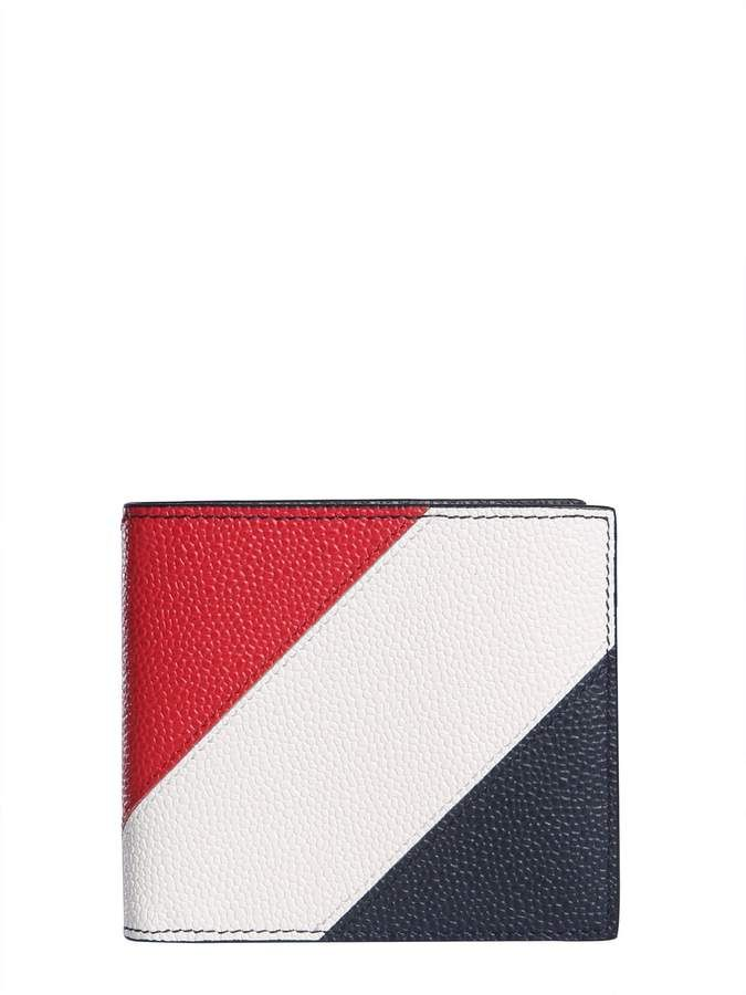 3b51941b9c Thom Browne Leather Bifold Wallet in 2019 | Products | Leather ...