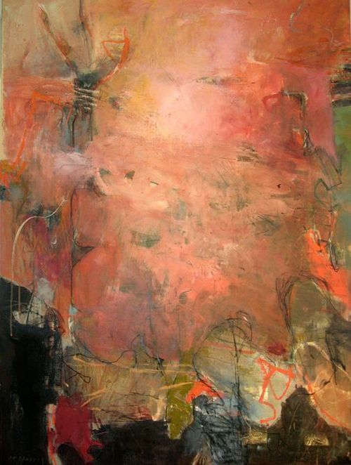 ♒ Art in the Abstract ♒ modern painting by Krista Harris