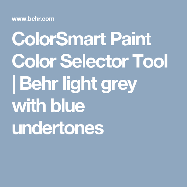 colorsmart paint color selector tool behr light grey on benjamin moore color chart visualizer id=16221