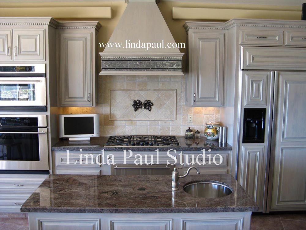 Decorative Tile Accents Tuscan Style Kitchen Backsplash  Ideas For Kitchen Backsplashes