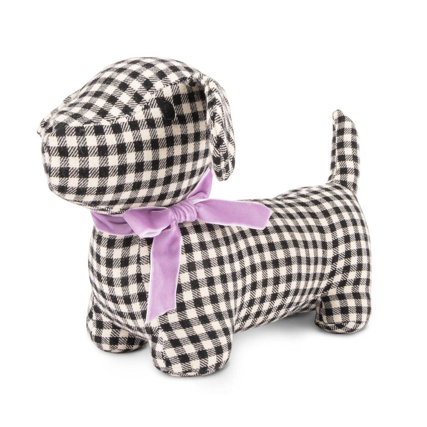Gingham Hound Plush Dog Toy Smart Dog Toys Interactive Dog Toys