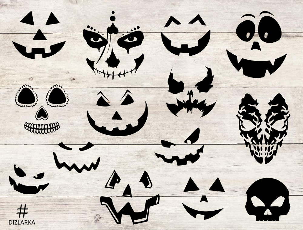 Halloween Face Mask Svg Halloween Faces Files Pumpkin Face Bundle Cute Halloween Faces Png Emoji Face Svg Angry Terrible Horror In 2020 Halloween Face Mask Cute Halloween Halloween Face