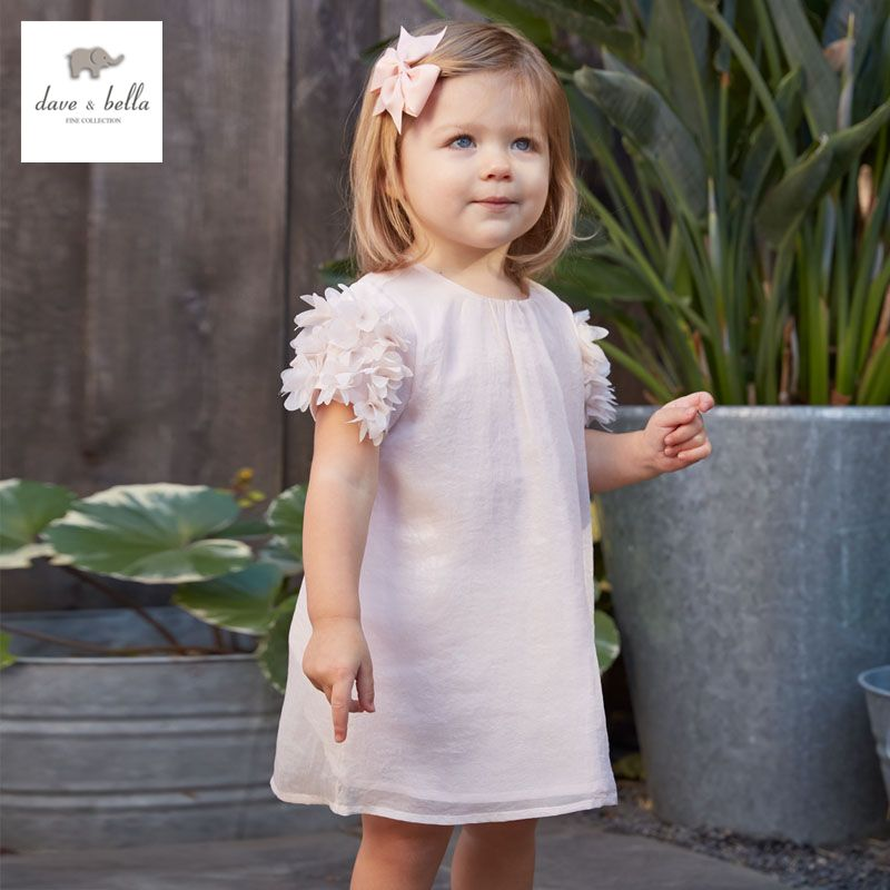 af7278c710e5a DB3329 dave bella summer baby girl ruched princess dress baby cute ...