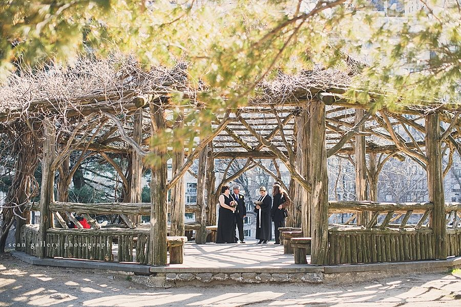 Wedding In Central Parks Cop Cot