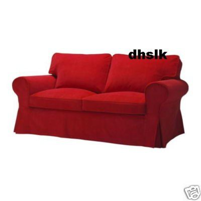 My favorite red corduroy slip cover! Love it! | For the Home ...