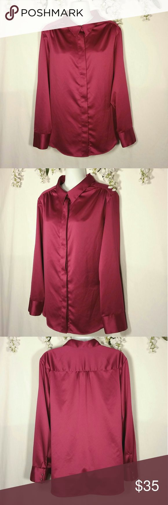 Nwot Coldwater Creek Button Up Blouse New Without Tags Never Worn Button Up L With Images Coldwater Creek Dress Creek Dress Long Sleeve Shirt Dress