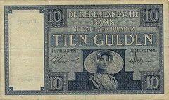 billet de banque neerlandais