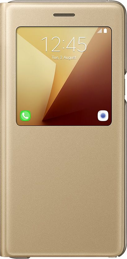 Galaxy Note7的金色S View Standing Cover透視感應皮套(立架式)