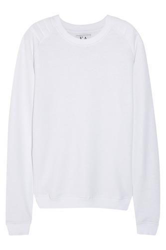 Cotton-blend terry sweatshirt #sweater #covetme #zoekarssen