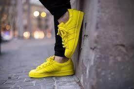 adidas supercolor jaune