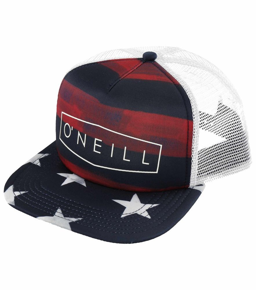 6398928d9d0 O Neill Men s Freedom Trucker Snapback Hat-One Size  ONeill ...