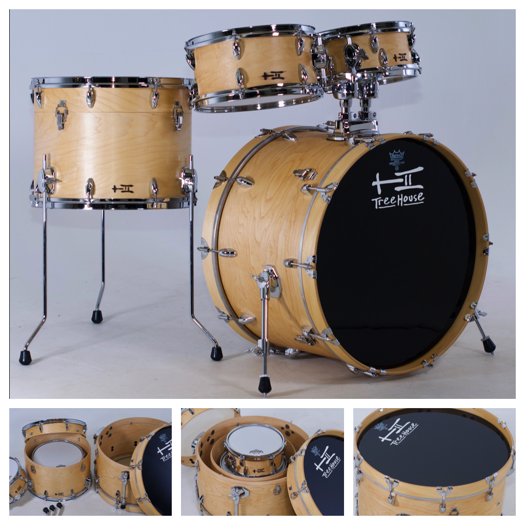 So I Was Thinking About Using A Metal Snare On A Compact Nesting Kit It Lets Me Change Out With Deeper Snares Which Don T Have To Tree House Tom Bass