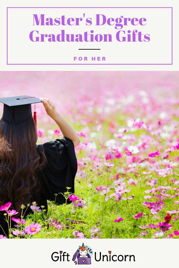 40 gift ideas to celebrate her masters degree