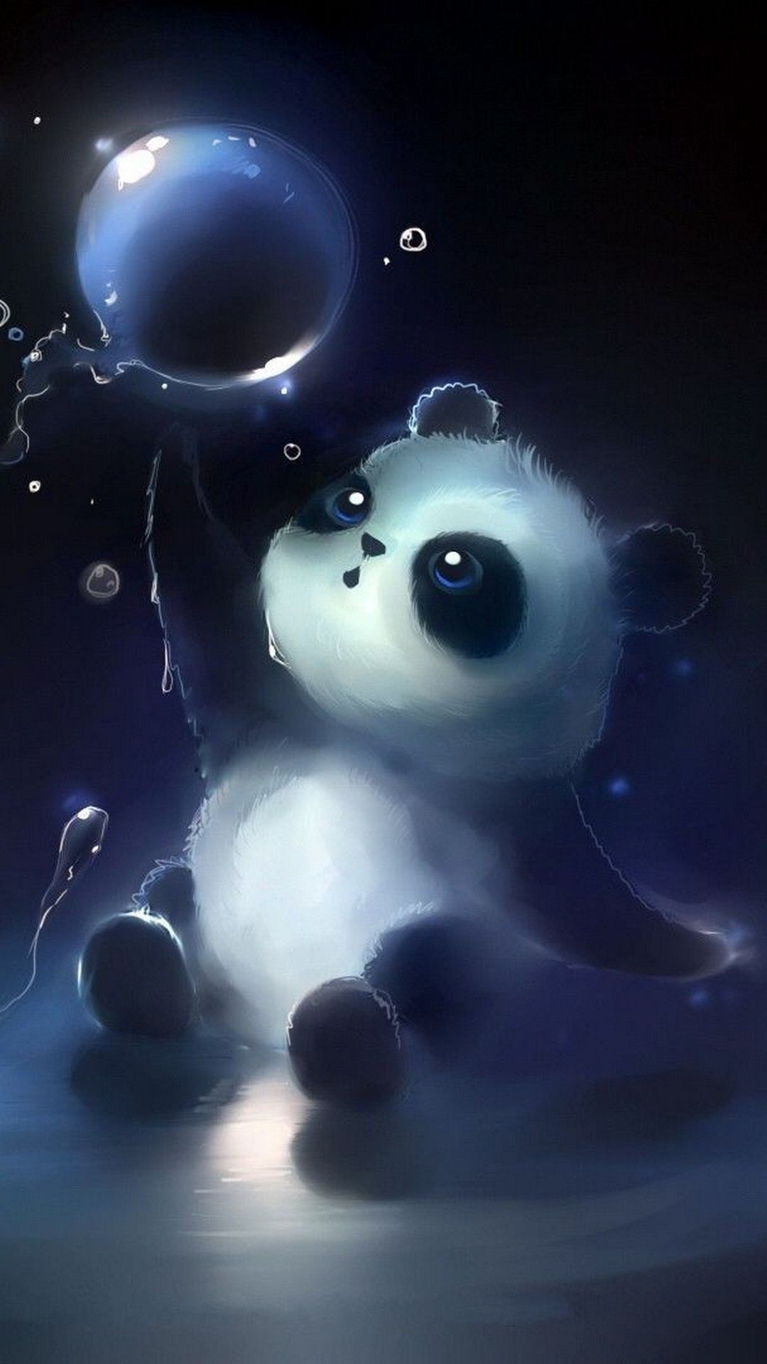 Android Wallpaper HD Baby Panda