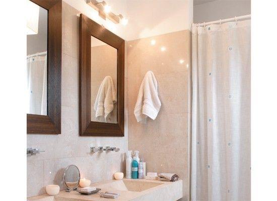 Inspiraci n espejos para ba os con marco de madera 96 en for Espejos para banos con marco de madera
