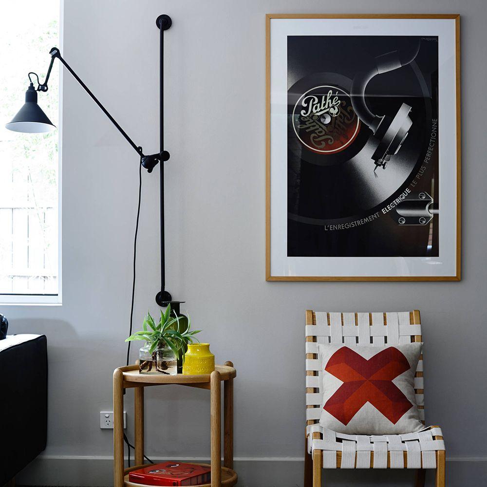 New Scandinavian Design Black Lampe Model Adjustable Wall Lamp For Restaurant Hotel Corridor Bedroom Living Room