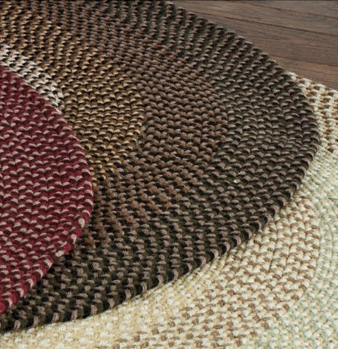 Braided Wool Rugs From Through The Country Door My Country Home
