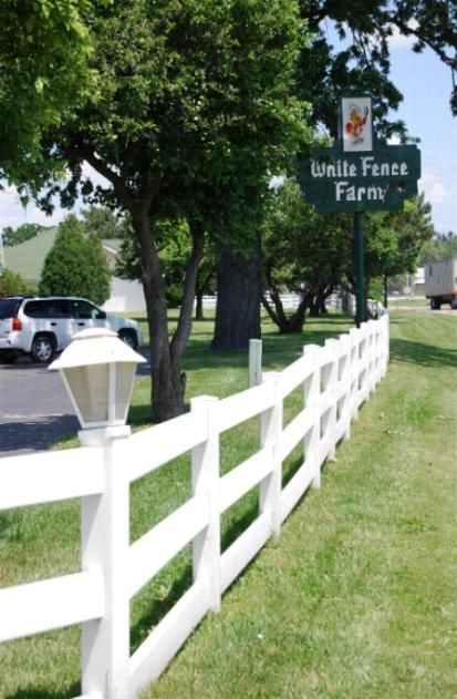 White Fence Restaurant Fences And Exercise Pens White Fence