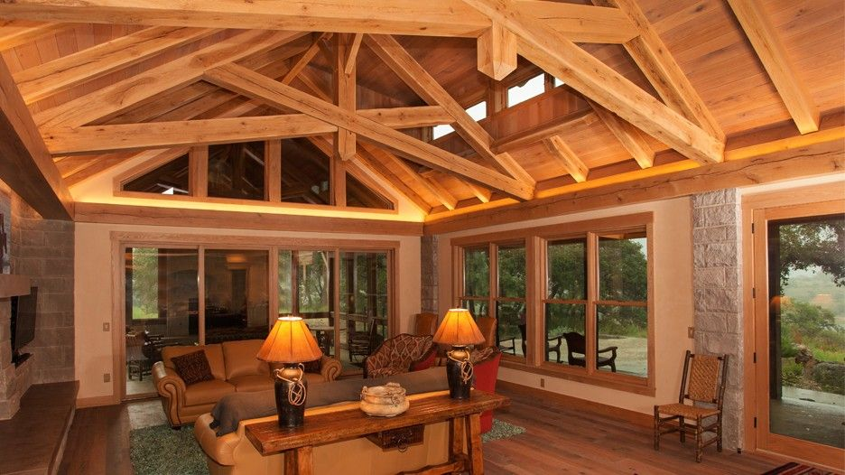 Timber Frame Homes, Trusses & Kits | Texas Timber Frames | Architect ...