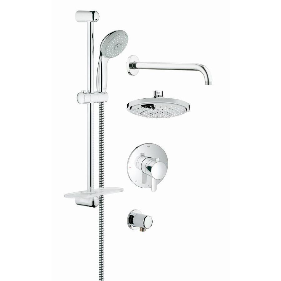 Grohe Grohflex 7.0625-In Chrome Showerhead With Hand Showers 35051000