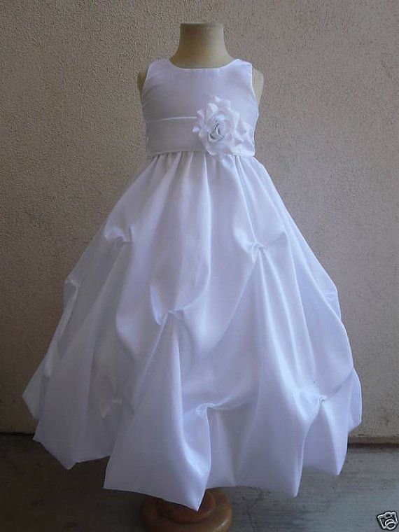 Elegant  flower girl dress in many colord & more by KidsDreamsUSA, $32.99