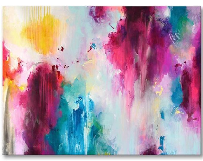 Original art XXL extra large abstract painting, abstract art, modern ...
